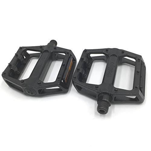 """Wellgo B087 Alloy Pedals Silver MTB BMX Mountain Bike Pedals 9//16/"""" Cycle Durable"""