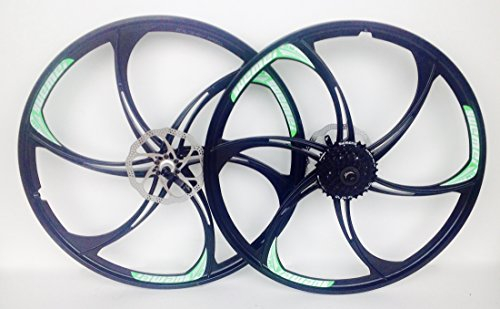 Magnesium Alloy Wheels Pair Front And Rear Mountain Bike With Cassette New 26 Inch 94 99 Yuemei Brand Buy Direct Ltd 279941 Mountainbikers Bike
